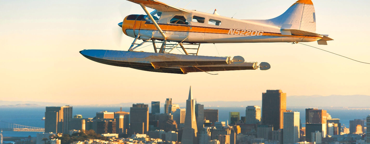 Fly Over San Francisco by  Airplane or Seaplane Tour
