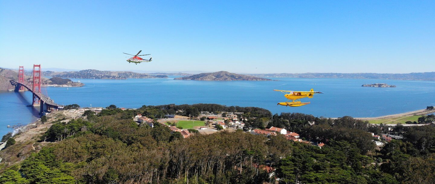 San Francisco Helicopter Flight  Tour  and Breathtaking Aerial View