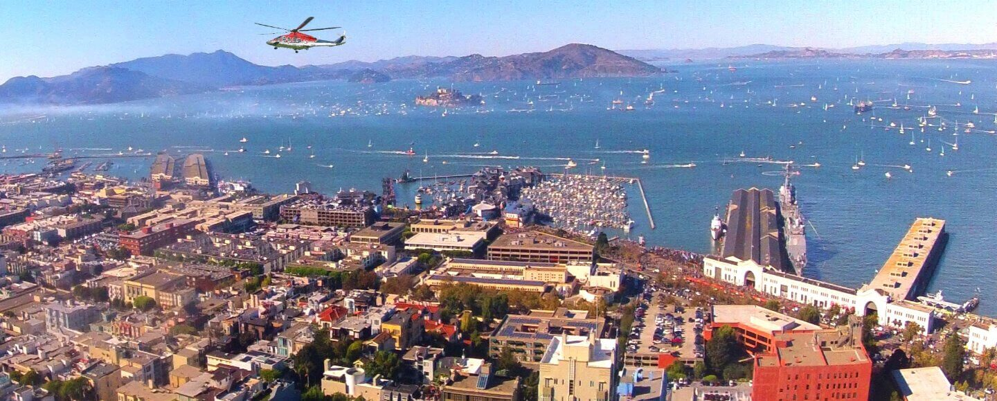 San Francisco Seaplane Adventures and  Air Tours of the City