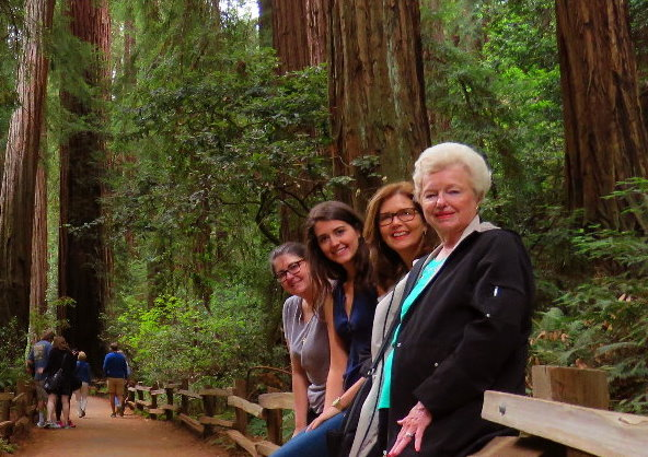 Armstrong state park of redwoods in Russian river valley tour