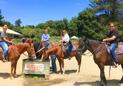 Best Horseback Riding on Beach in San Francisco
