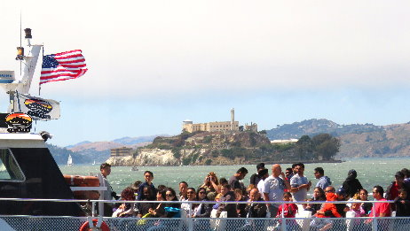 City Tour and Bay Cruise Ferry Trip Around Alcatraz