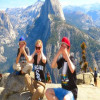 Glacier Point group bus tour from Yosemite Valley floor