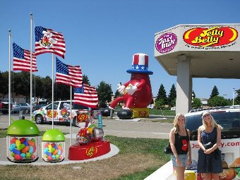 Jelly Belly Beans Candy Company in California candy tour