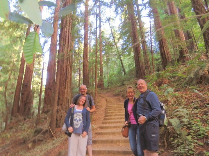 Muir-Woods-National-Monument-trail-walking-guided-tour-