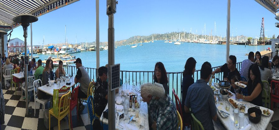 Restaurants with a View in Sausalito and San Francisco