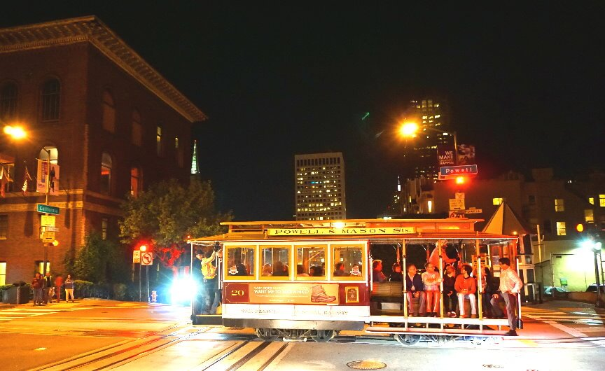 San Francisco City Sightseeing Tour at Night