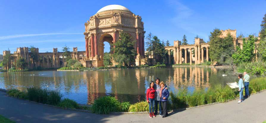 San-Francisco-sights-attractions-city-tour-palace-of-fine-arts-