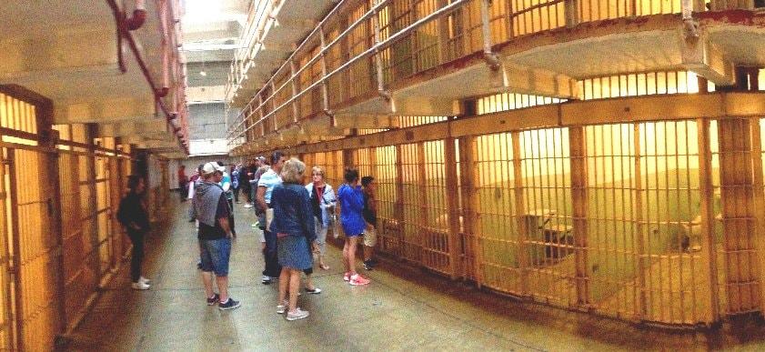 cell-block-group-tour-alcatraz-island-prison-SFO-