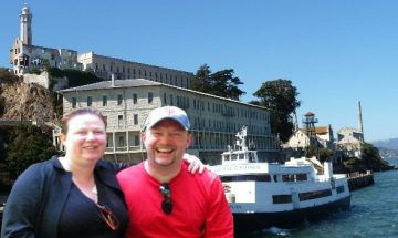 Bay Cruise around Alcatraz Island