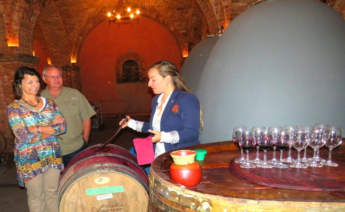 visit-a-castle-_winery+cave-_barrel-wine-_tasting-in-napa-valley